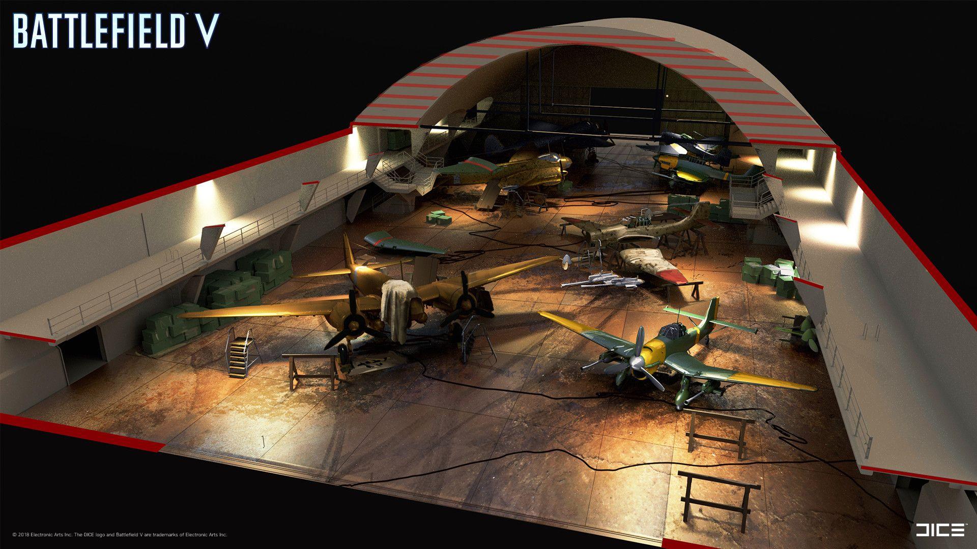 Artstation Battlefield V Aerodrome Tahir Tanis With Images