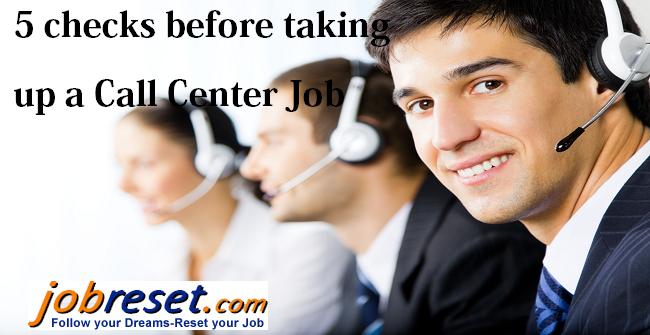 5 checks before taking up a Call Center Job Facebook
