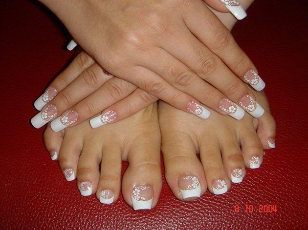 Pin By Kim Gesumaria On Nailicious Yummy Nails Of All Kinds Long Acrylic Nails Nails Feet Nail Design