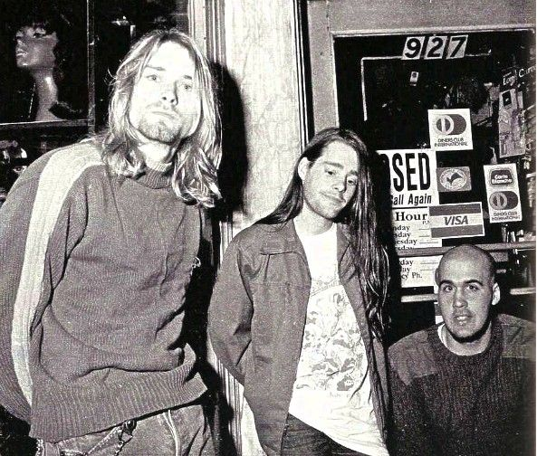 Kurt Chad And Krist Nirvana Nirvana Kurt Cobain Nirvana Kurt Cobain