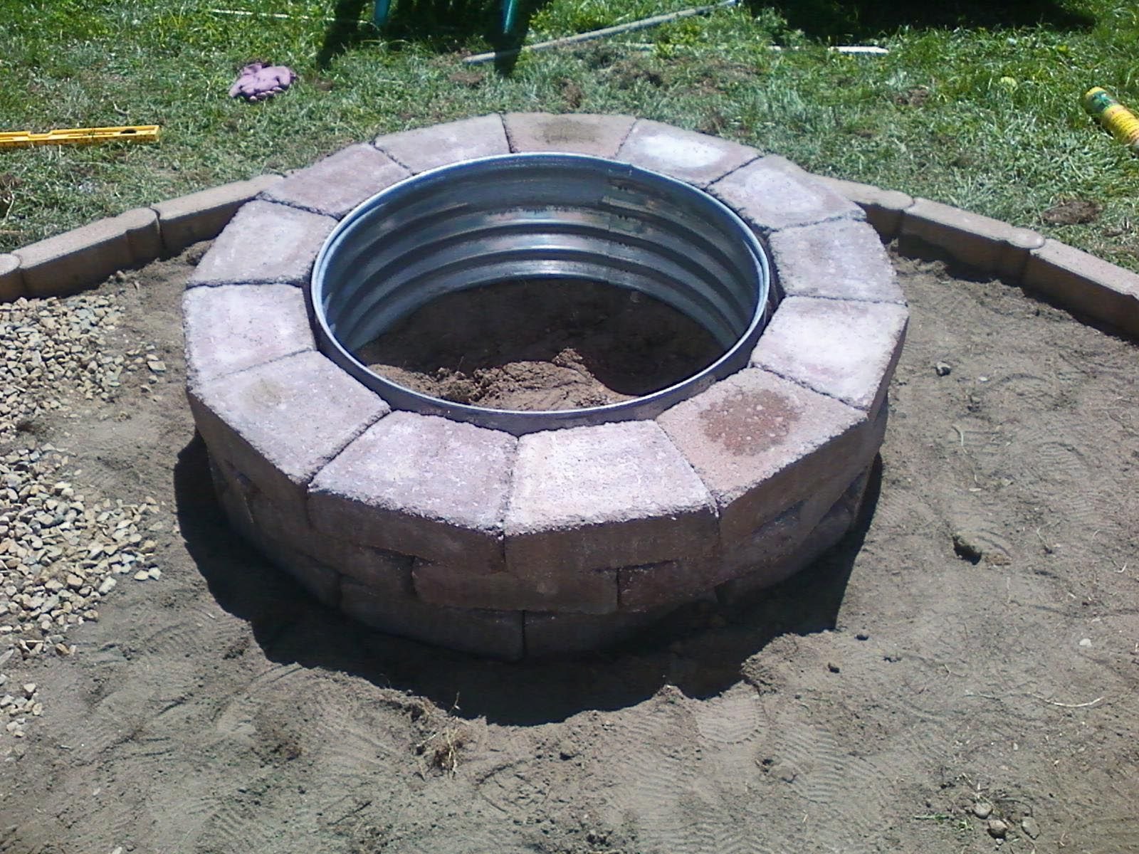 Galvanized Fire Pit Ring 48 Fire Pit Diy Fire Pit Fire