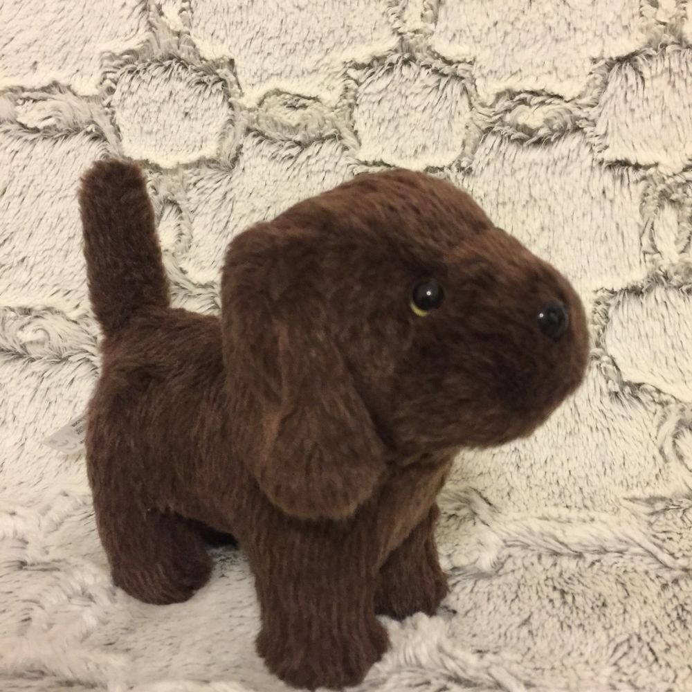 American Girl Doll Dog Chocolate Chip Brown Chocolate Lab Dog Pet