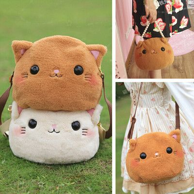 Lolita cute cat backpack bags
