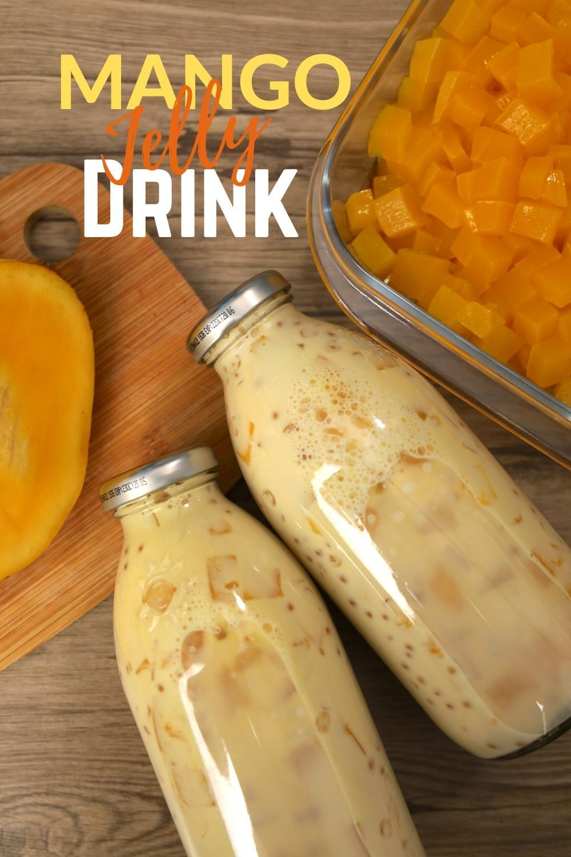 Mango Jelly Drink Mango Jelly Food Drinks Dessert Food Drink Photography