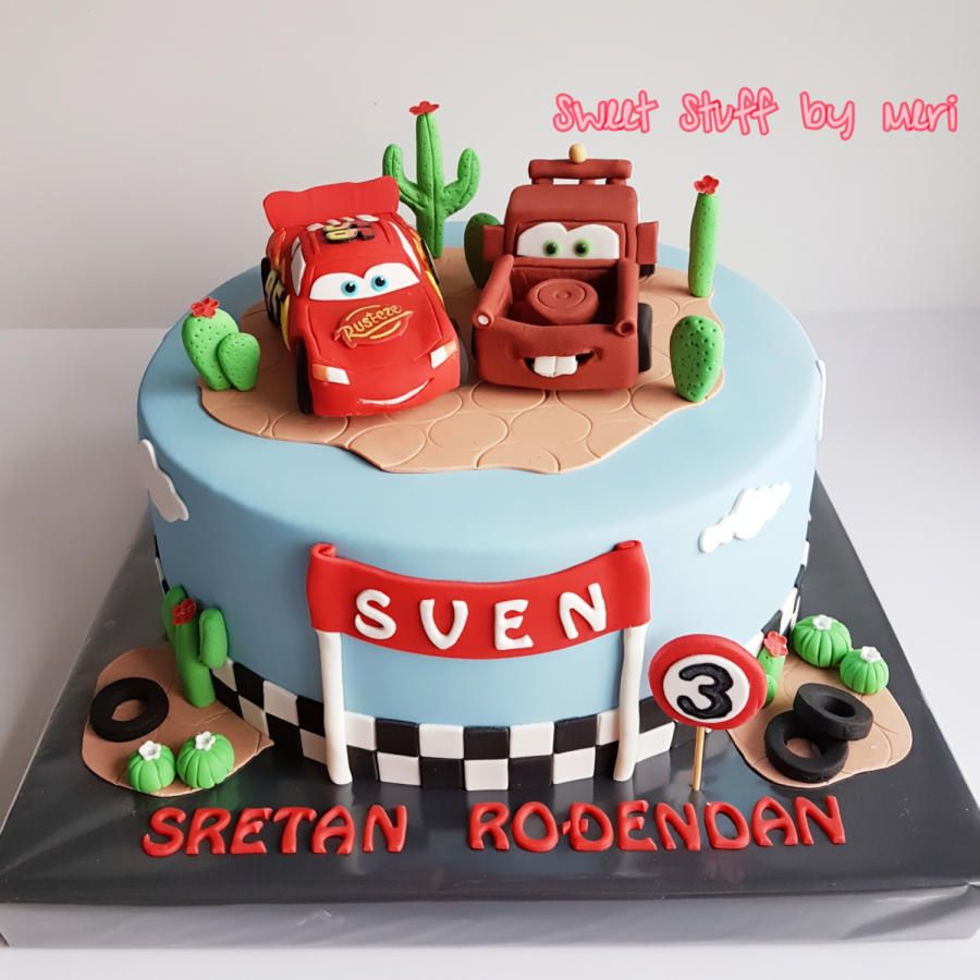 Cars Cake With Images Car Cake Cake Fondant Cakes