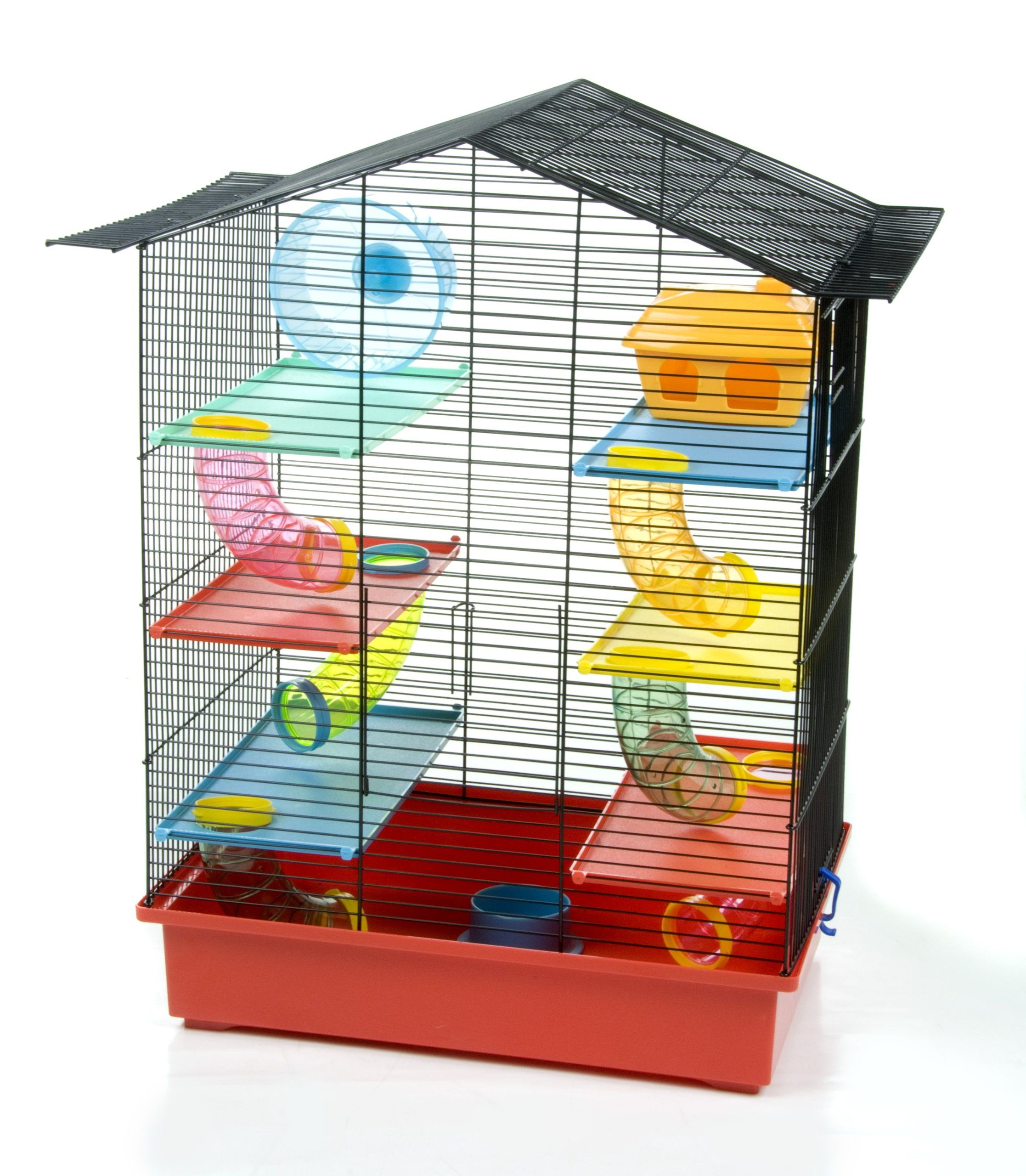 Barbie Wire Hamster Cage See The Image Web Link Even More Information This Is An Affiliate Link Smallanimal Hamster Cage Hamster House Hamster