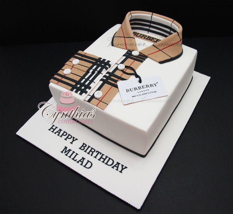 designer shirt cakes cake decorating daily inspiration ideas pinterest torte f r. Black Bedroom Furniture Sets. Home Design Ideas