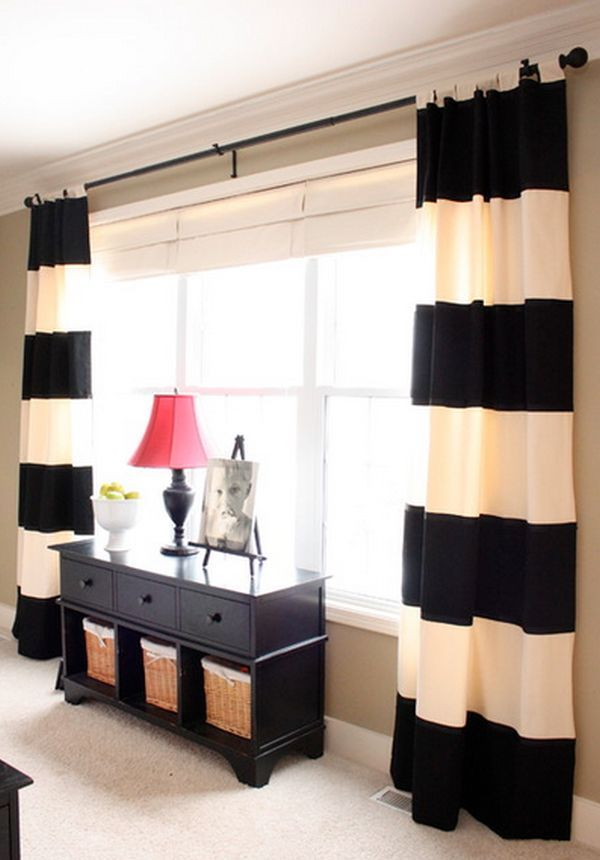 Tips To Choose The Ideal Curtains Painted Curtains Bamboo Blinds - Tips-to-choose-the-ideal-curtains