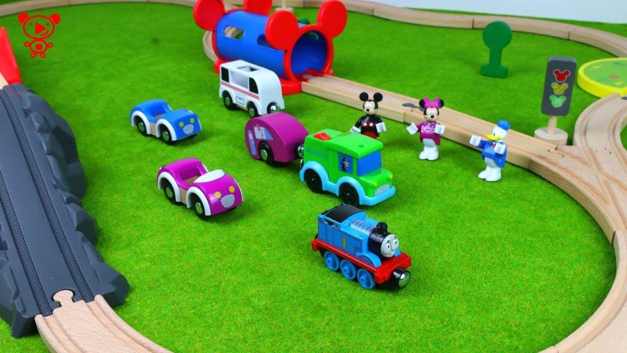 Holzeisenbahn Thomas Der Zug Micky Mouse Autos Lastwagen Toy Trains For Kids Lego Duplo Train Lego For Kids