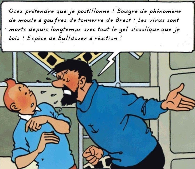 Épinglé sur Tintin Coronavirus