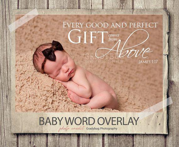 Word overlay baby newborn phrase photo overlay text photo overlay bible quote baby newborn photo words phrase nstant download baby newborn