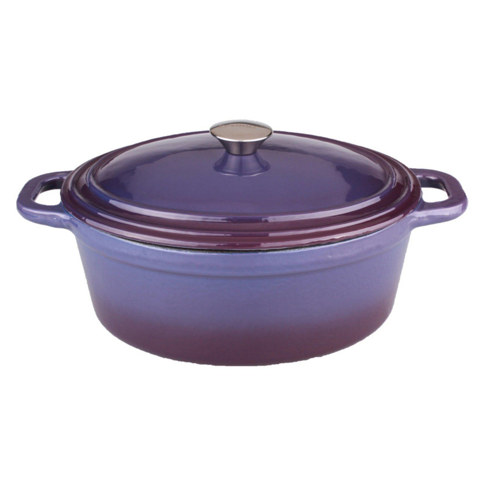 Berghoff Neo Cast Iron Round Casserole With Lid Blue In 2019
