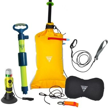 The Deluxe Safety Kit from Comfykayak offers a full complement of safety items for better paddling safety.