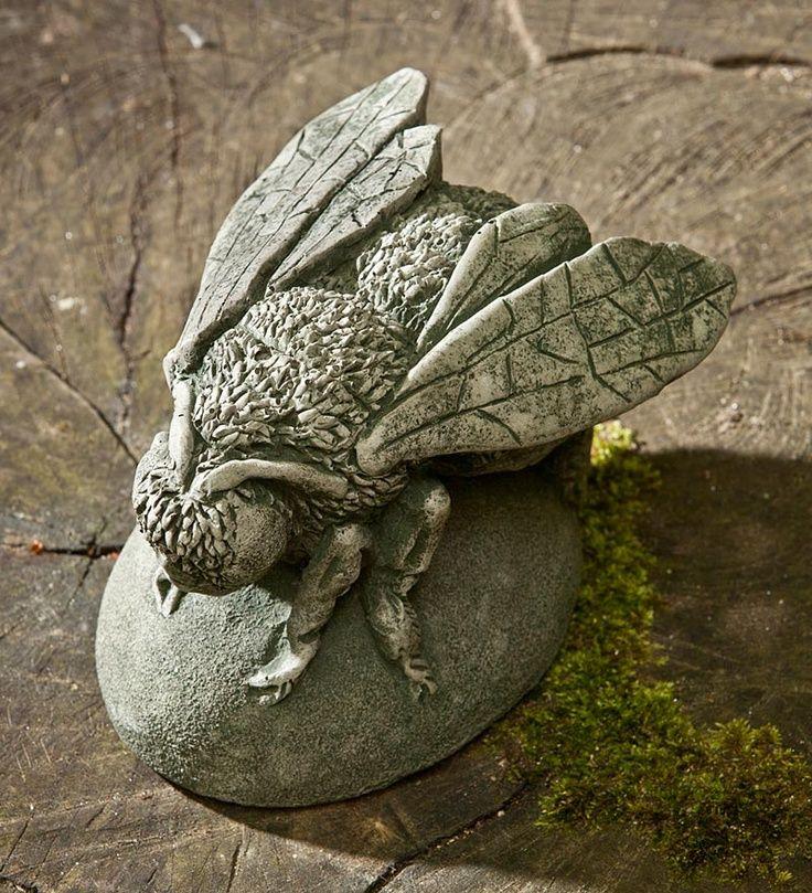 Concrete bee | The Bees Knees | Bee art, Bee, Buzz bee
