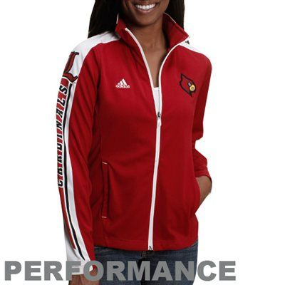 reputable site 63c45 cabb5 FANATICS adidas Louisville Cardinals Ladies Sideline Swagger ...