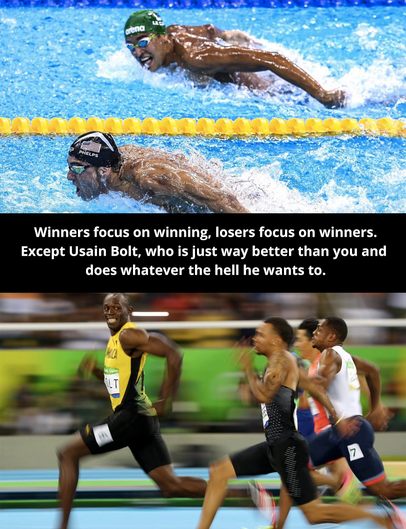 The real lesson learned in Rio.