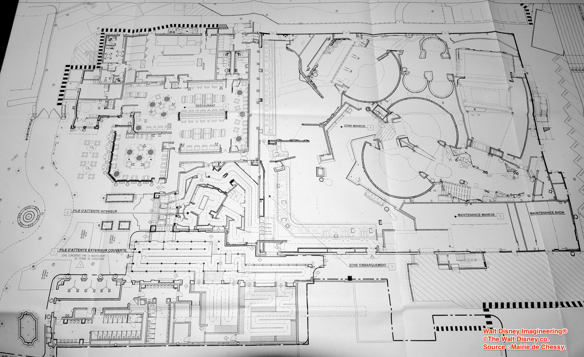 Ratatouille attraction show building blueprint disneyland resort ratatouille attraction show building blueprint malvernweather Image collections