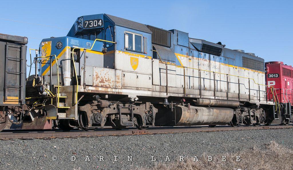 D&H GP382 7304 in 2020 Railroad photography, Railroad