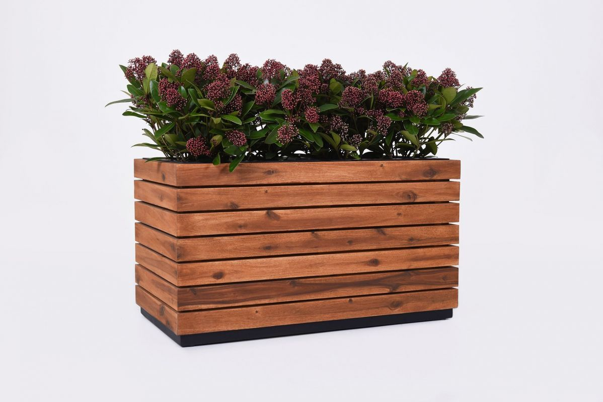 Maxi 81 Pflanzkubel Pflanzen Und Pflanztrog Holz