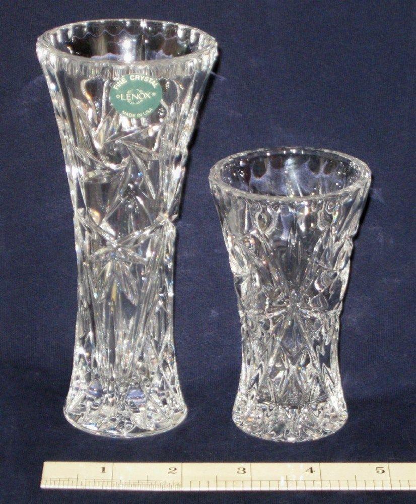 Lenox flowers from mickey full lead german crystal figurine nib 2 lenox lead crystal flower vases usa exc picclick reviewsmspy