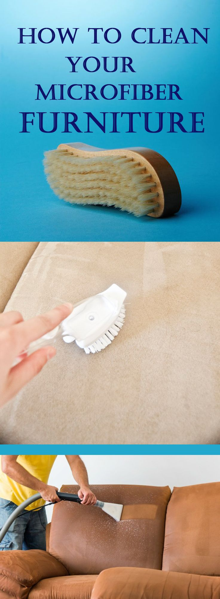 How to Clean Your Microfiber Furniture Home & Yard