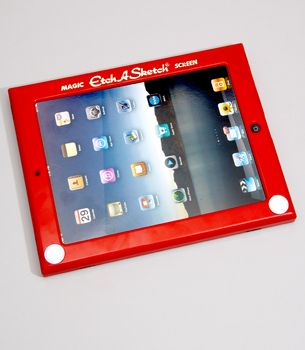 Etch-a-sketch iPad cover- 20 Valentines Day Gift Ideas for A Guy