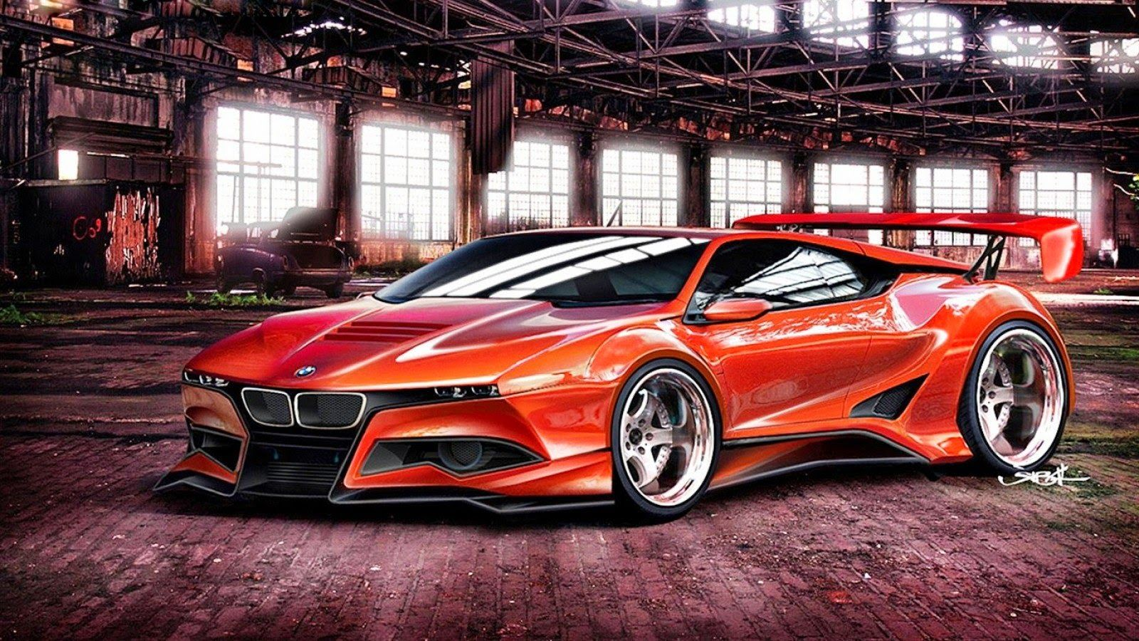 Red BMW Sports Car | Latest Auto Car | Best Games Wallpapers ...