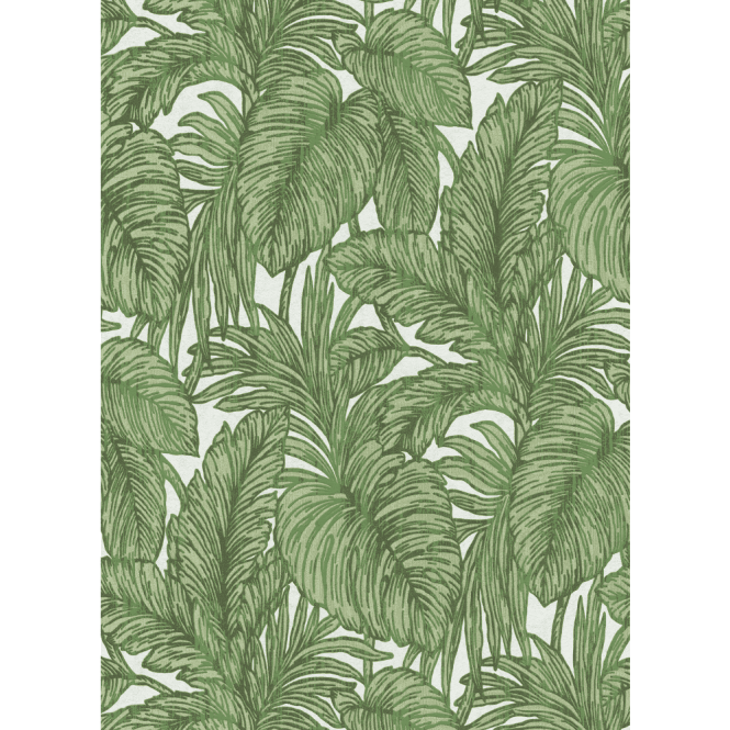 Erismann Erismann Botanical Leaf Textured Metallic Jungle