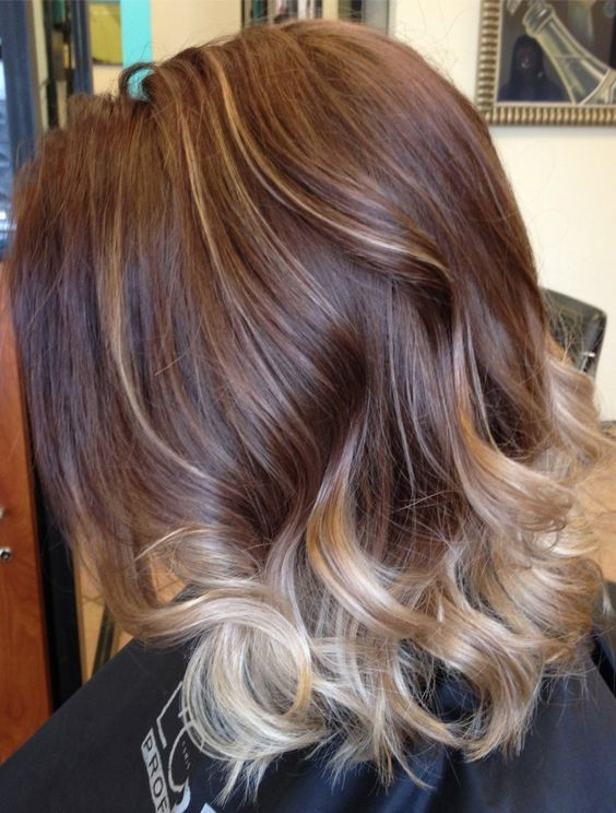 Top 20 Balayage Hair Colors For Short Medium Hair In 2017 2018