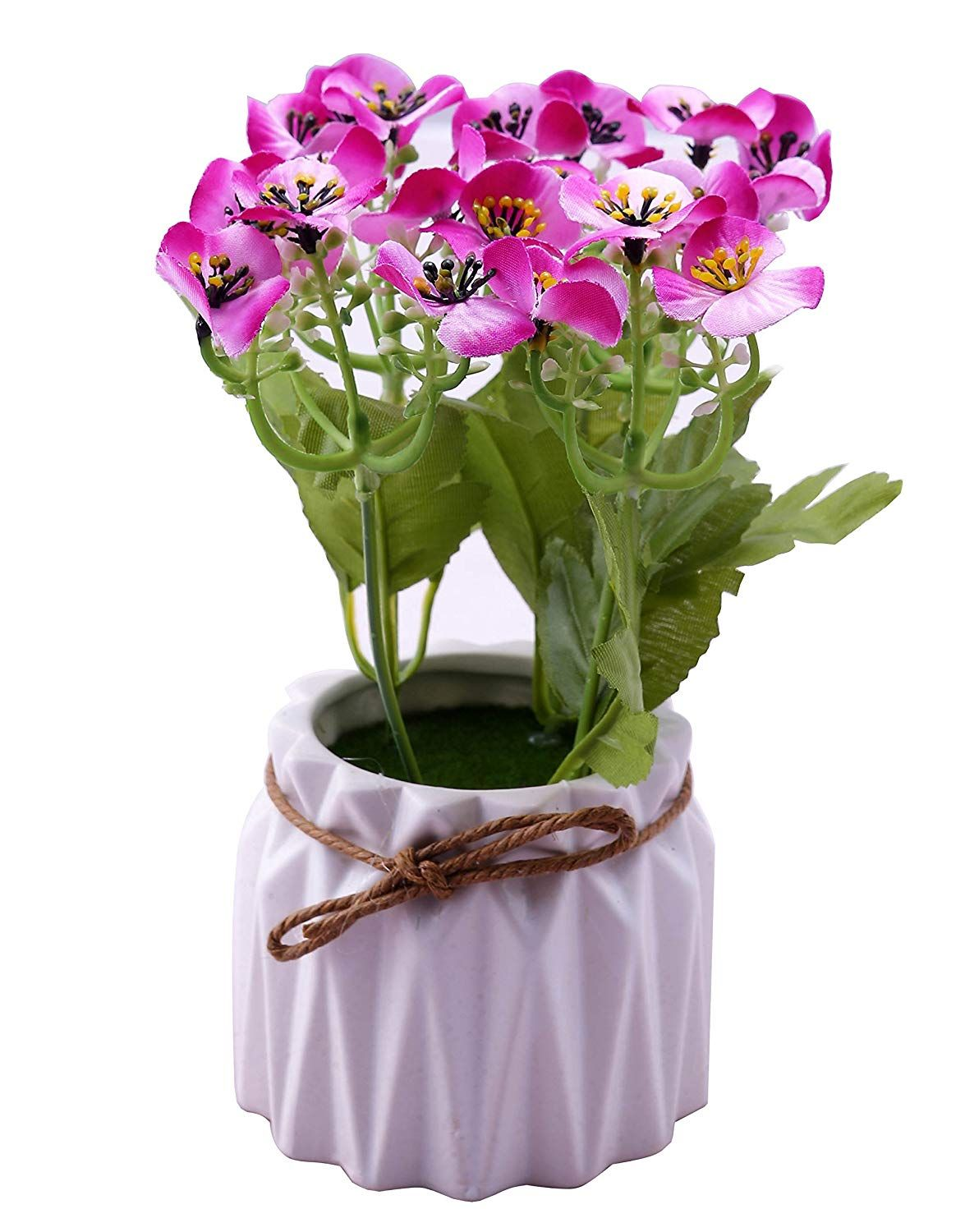 Buy novicz natural looking ceramic artificial flowers with