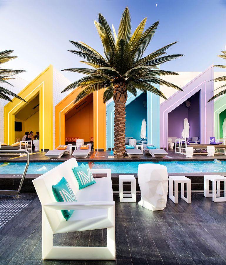 Charmant Vondom For The Prestigious U0027Matisse Beach Clubu0027 In Australia #colour  #outdoor #pool @Vondom