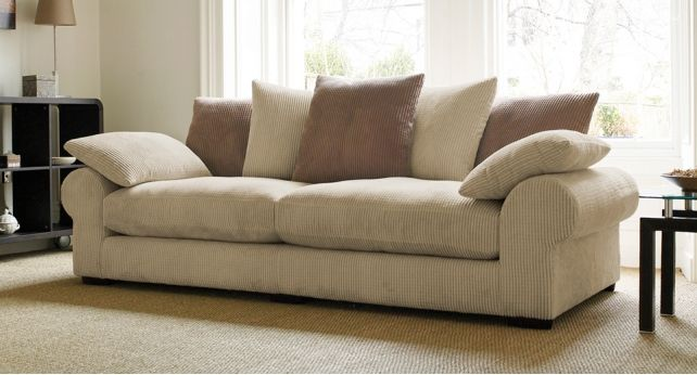 Strand 3 Seater Sofa Scatter Back Nice Look Sofa Ideas
