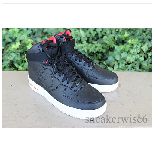 brand new 49f92 41ed8 NIKE Lebron James Air Force 1 High Premium 386161 009 , del sol christmas  BHM