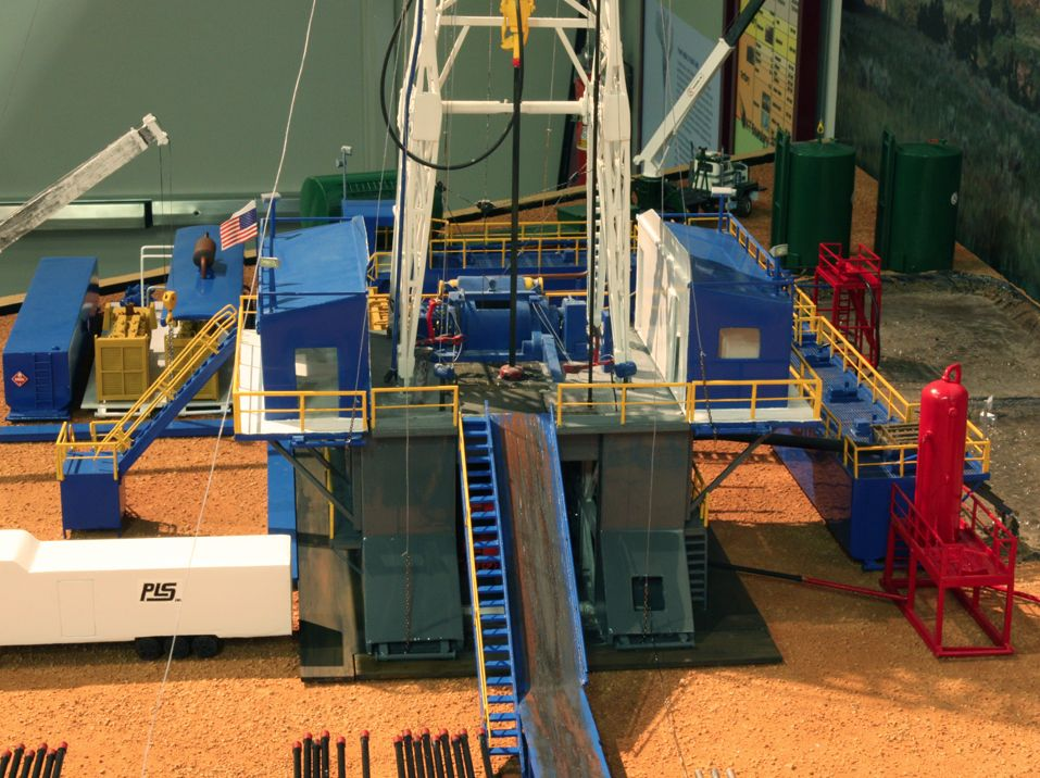 Pin by MPR Models on Drilling Rig Models Drilling rig
