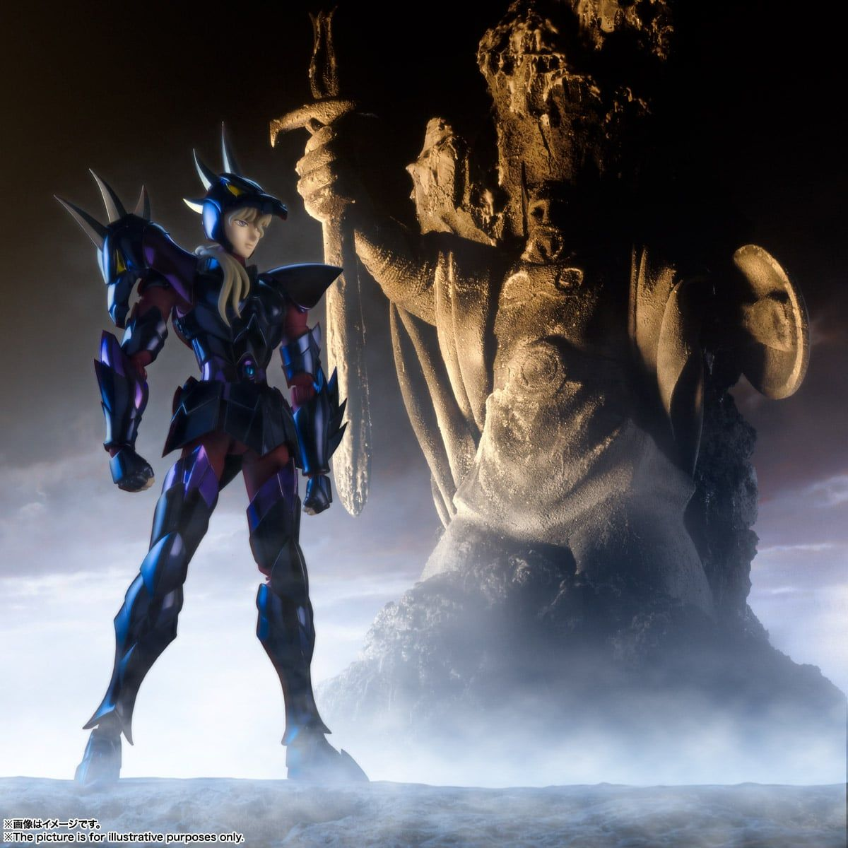 BANDAI Saint Seiya Cloth Myth EX Dubhe Alpha Siegfried Action Figure,In stock