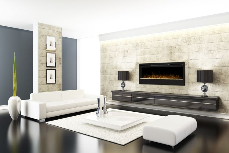 synergy wall mounted electric fire with glass flame bed on stylish and elegant modern glass wall interior design ideas get the financial benefits id=49776