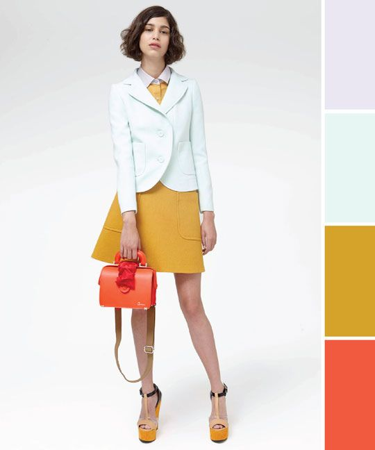 carven - playing with colors