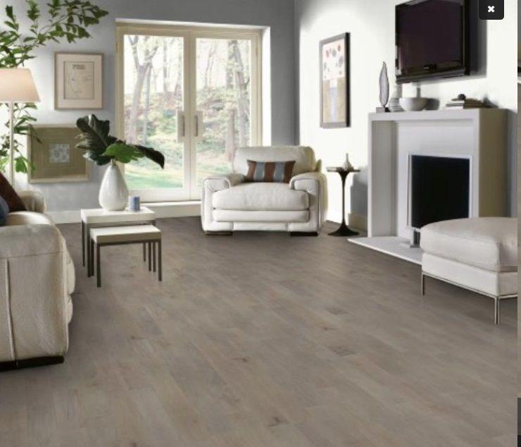 Taupe wood flooring with neutral interior Домашний декор