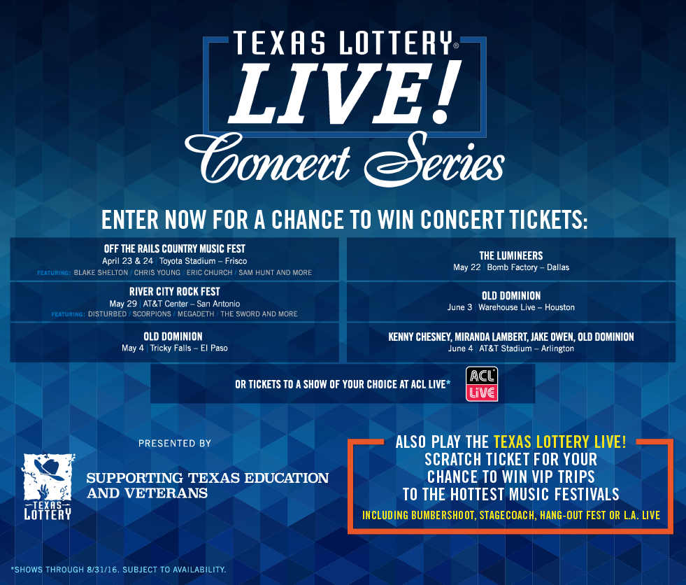 ENTER TO WIN! Texas Lottery Live | Artstrada Magazine