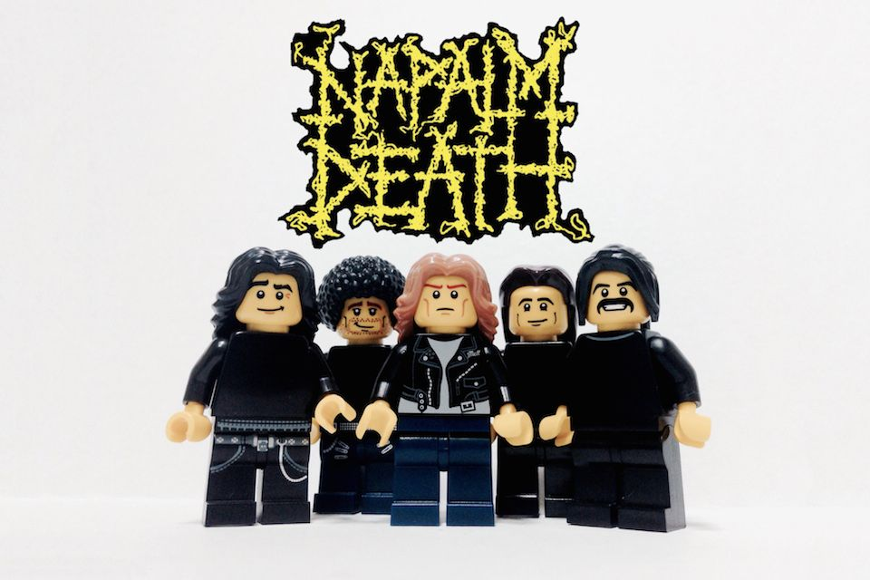 LEGOlised Napalm Death by Adly Syairi Ramly