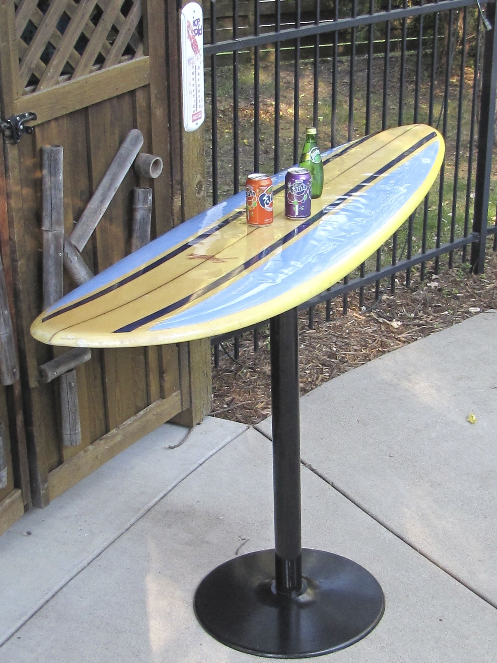 my surfboard table morefosterginger pinterest commore pins