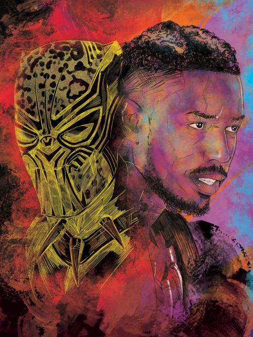 Killmonger - Mark Alvarado, Colors: Sam Watson | Black ...