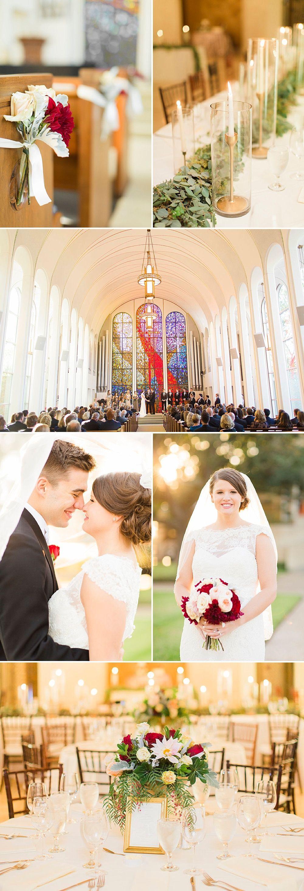 All white church wedding decor Westmoreland Chapel Wedding  Wedding Hairstyles u Makeup