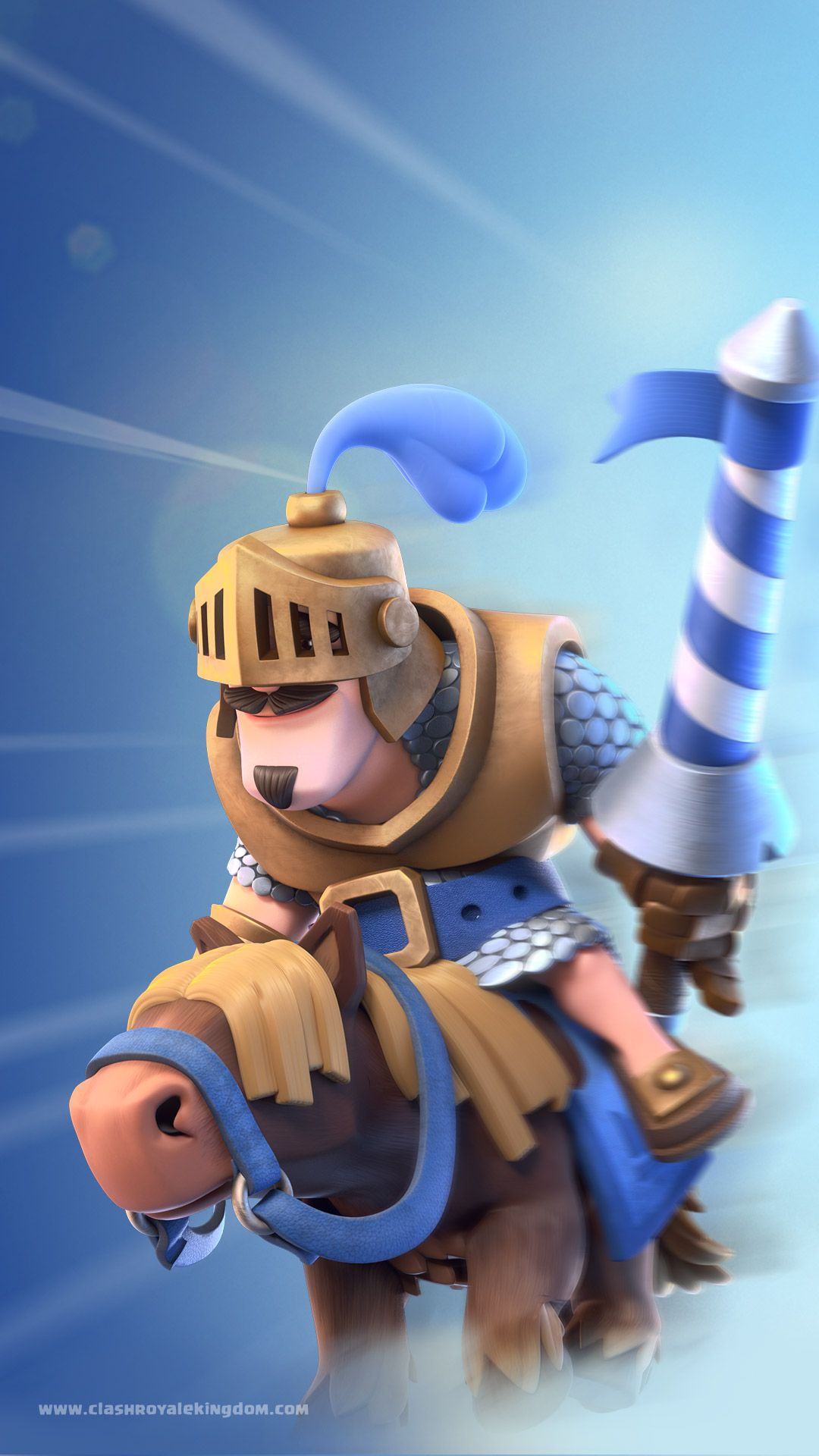 Clash royale wallpaper -- CHARGED PRINCE | Clash royale ...