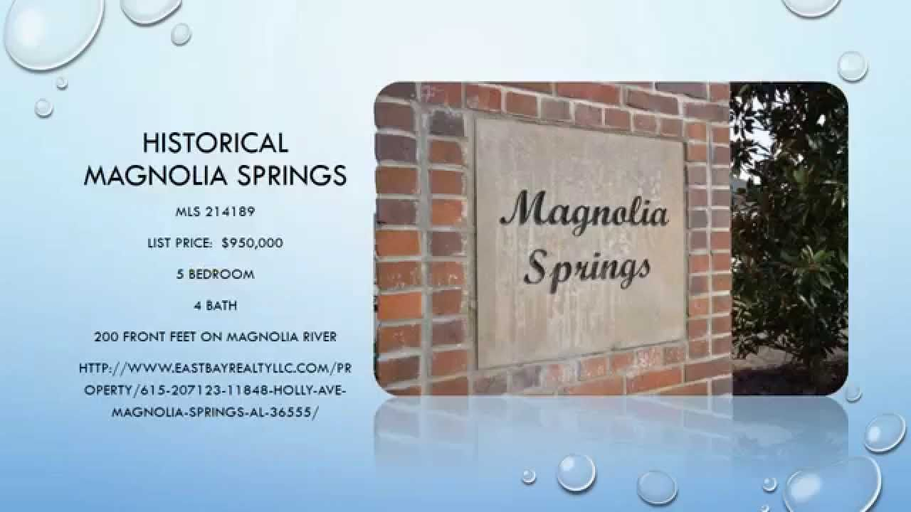 Magnolia Springs Waterfront