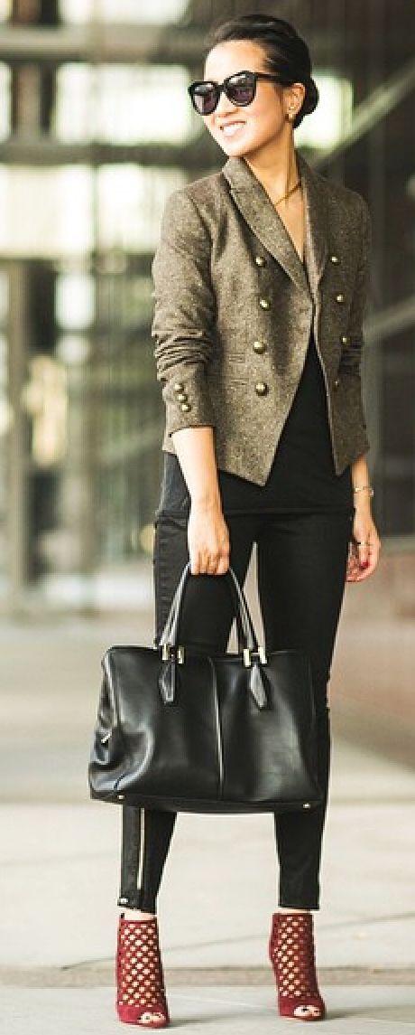 Military jacket/black