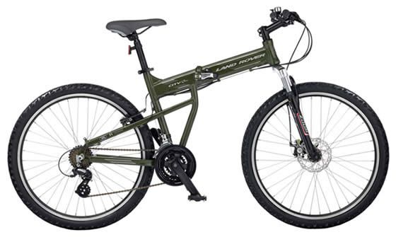Land Rover City Bike It Folds For Easy Storage Between Commutes Folding Bike Land Rover Bike Reviews
