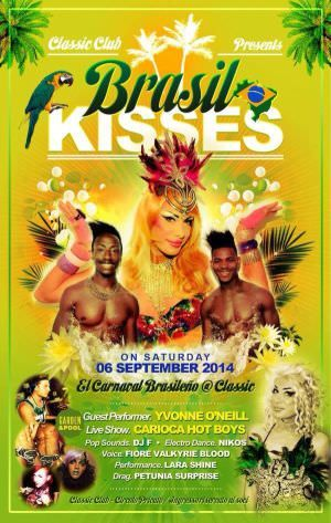 Brasil Kisses al Classic Club http://ow.ly/AY5YS