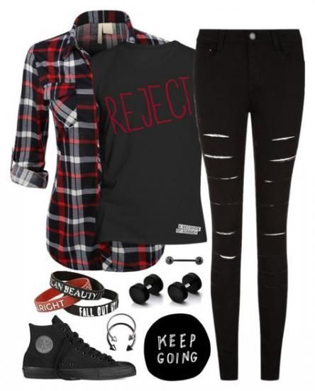 Fashion Edgy Grunge Polyvore 15 Ideas For 2019 – #fashion #grunge #ideas #polyvore – #new –