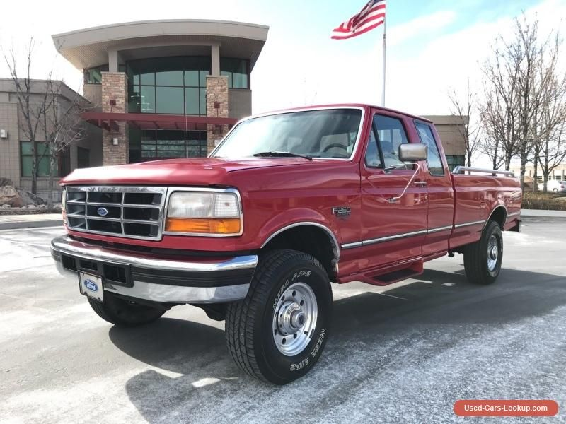 1995 Ford F 250 Xlt Ford F250 Forsale Unitedstates F250 Cars For Sale Ford Trucks